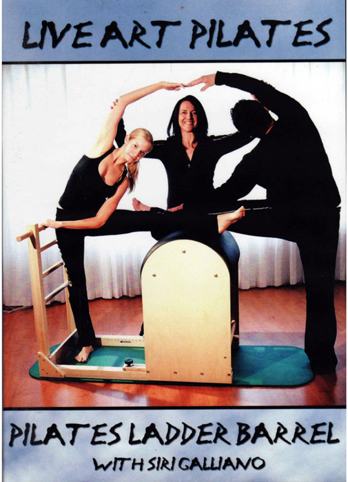 DVD Pilates Ladder Barrel