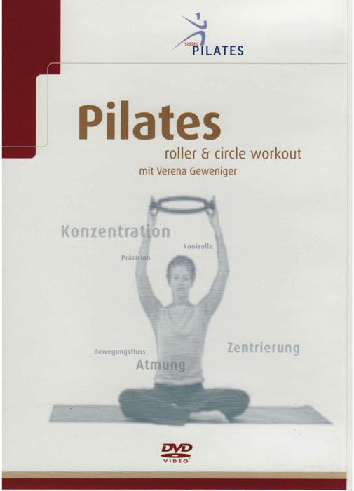 DVD SISSEL® Pilates Roller e Circle Workout
