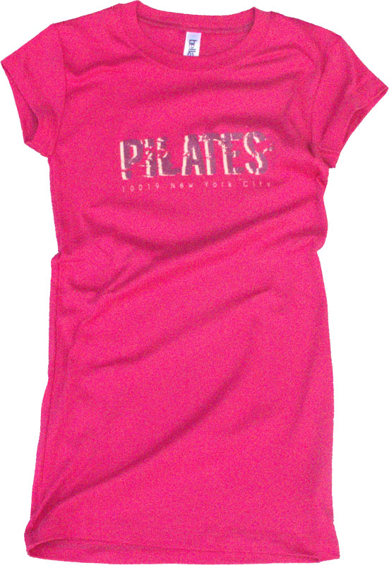 T-Shirt Donna  Pilates New York