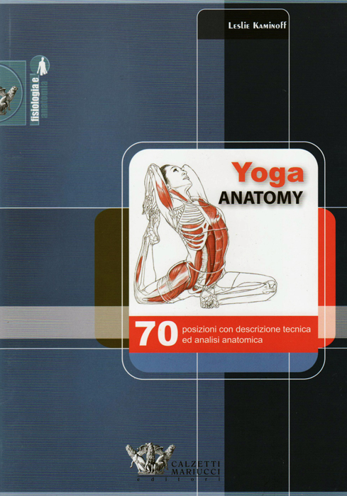 Libro Yoga Anatomy ed. italiana