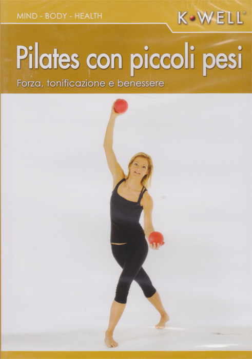 DVD Pilates con piccoli pesi