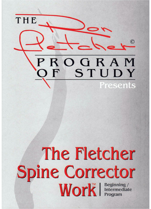 DVD Fletcher Spine Corrector Work