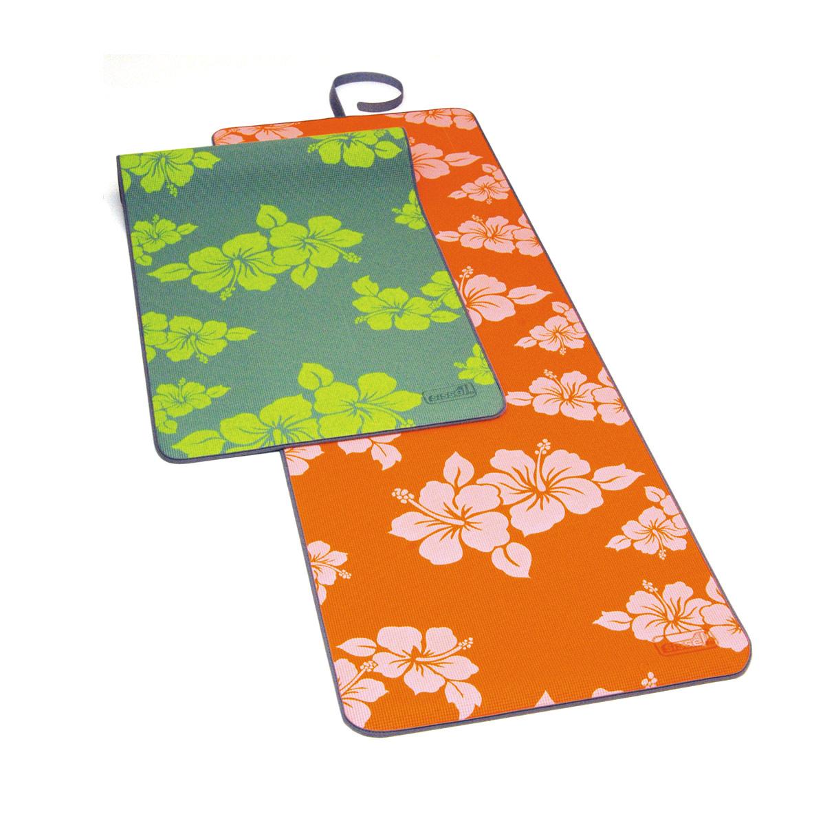 Tappetino Colorato E Floreale Yoga Flower Sissel