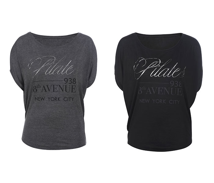 T-Shirt Donna PILATES 8 AVENUE