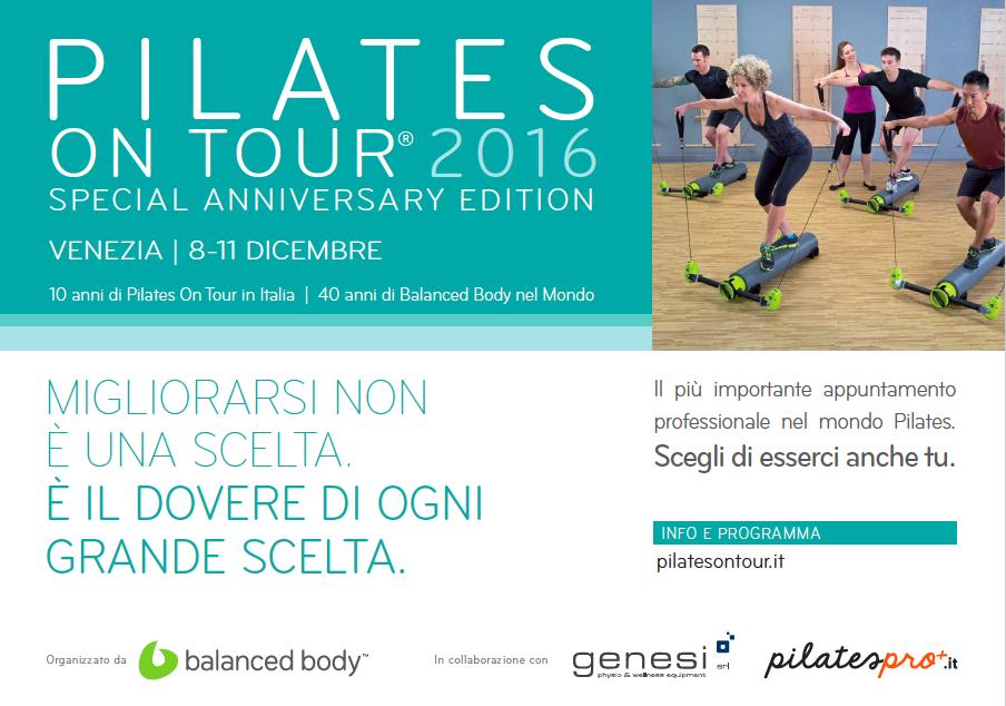 Scarica il programma dell'evento sul sito www.pilatesontour.it