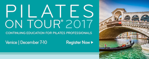 Pilates on Tour 2017 | Venezia, 5 - 10 Dicembre 2017