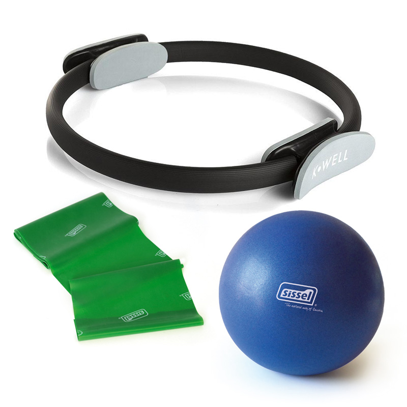 HOME KIT IDEAPILATES  EASY : Soft Ball, Fitband e Circle
