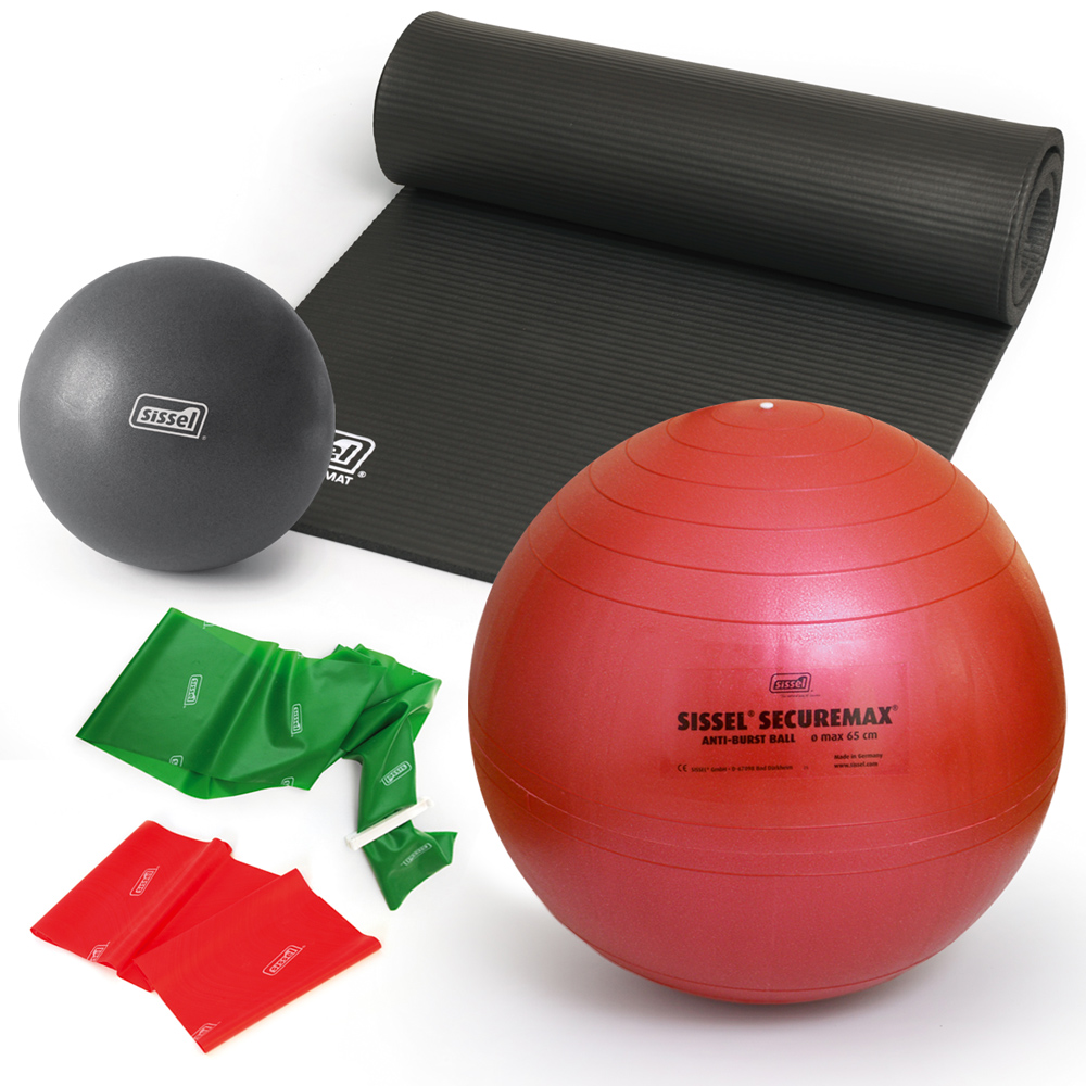 KIT  PILATES CON GIORGIA  1: Mat Gym - Soft Ball - FitBall - FitBand