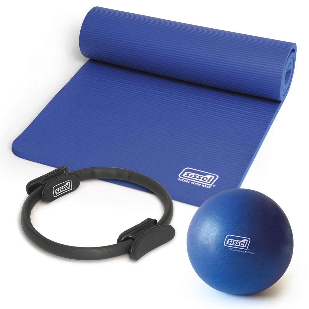 KIT PILATES CASA n°6: Circle, Soft Ball e Materassino